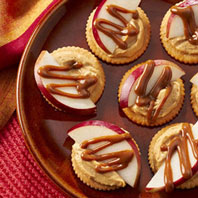 Sweet & Salty Dulce de Leche RITZ Toppers