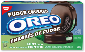 oreo fudge Enrobes