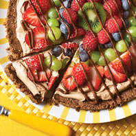 CHIPS AHOY! Chocolate-Fruit Pizza