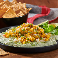 WHEAT THINS Street Corn Dip with Avocado Cream