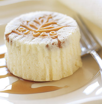 DAVID Mini Maple-Walnut Cheesecakes
