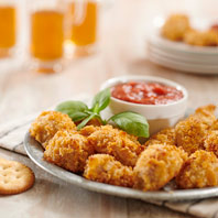 RITZ Parmesan-Crusted Chicken Bites
