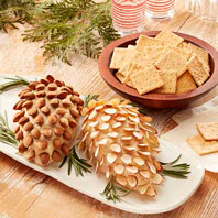 WHEAT THINS Gruyere Pinecone Spread