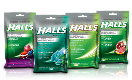 Find the right Halls product for you