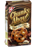 CHUNKS AHOY! Triple Chocolate