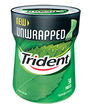 Trident Spearmint Unwrapped
